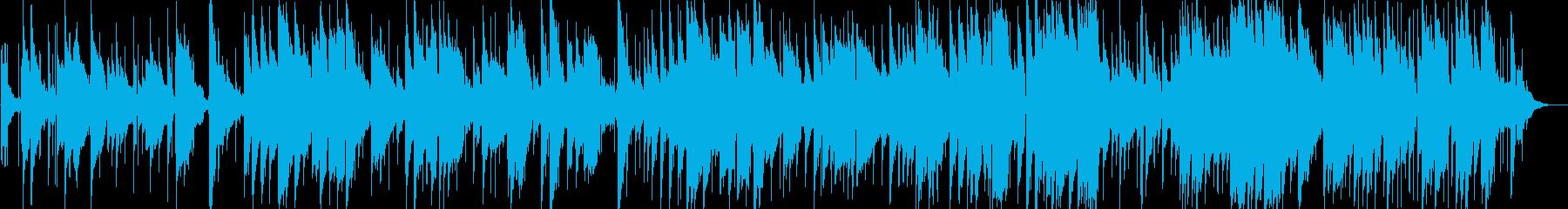 哀しげなギターサウンドの再生済みの波形