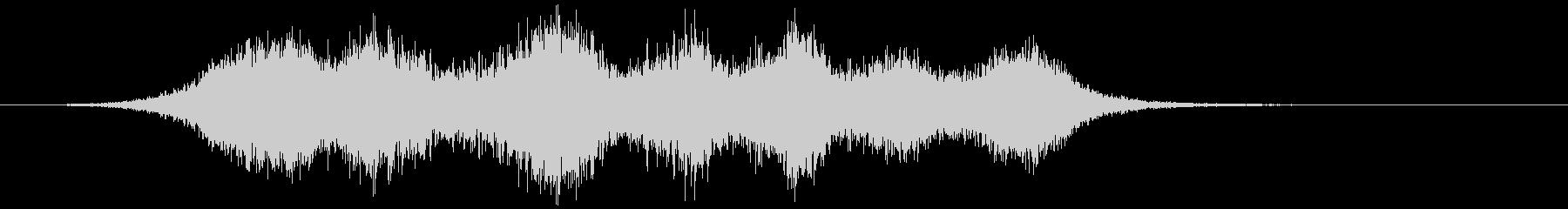 【ホラー】SFX_36 ヒューンッッの未再生の波形
