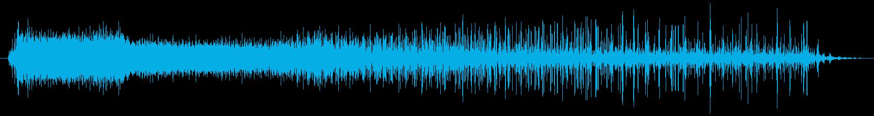 機械 ノイズクラックルドロップ02の再生済みの波形