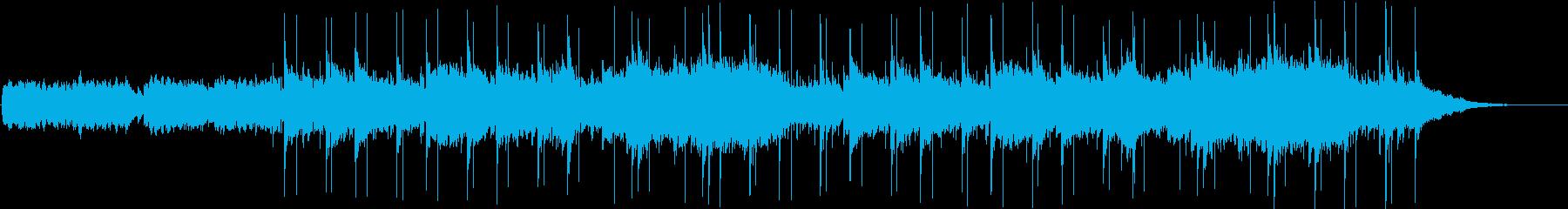 UFOの曲(ミステリアスなBGM)の再生済みの波形