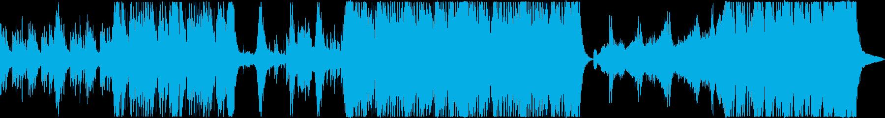 妖しいダークファンタジー和風曲の再生済みの波形