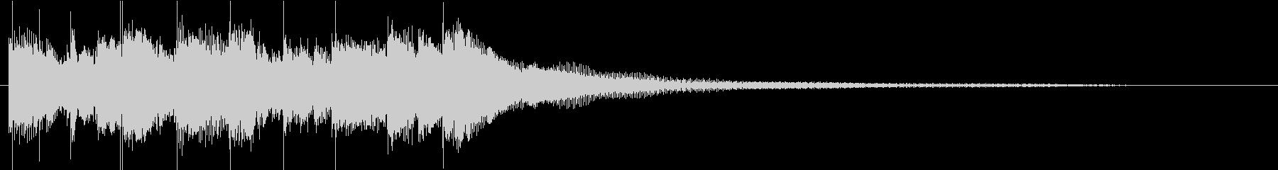民族的な雰囲気のミステリアスなBGMの未再生の波形