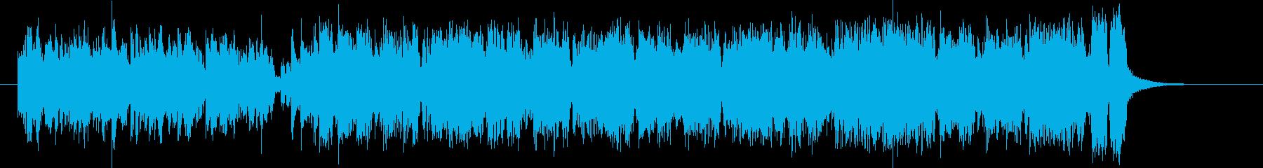 幻想的でありクールなBGMの再生済みの波形