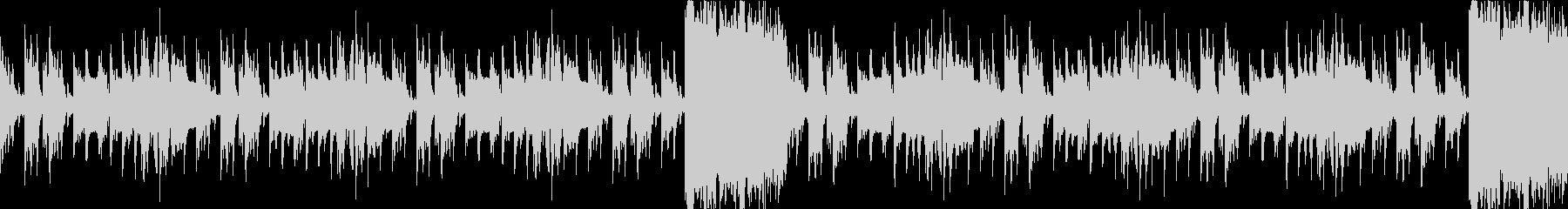 洞窟、ダンジョン、暗く切ない曲ループaの未再生の波形