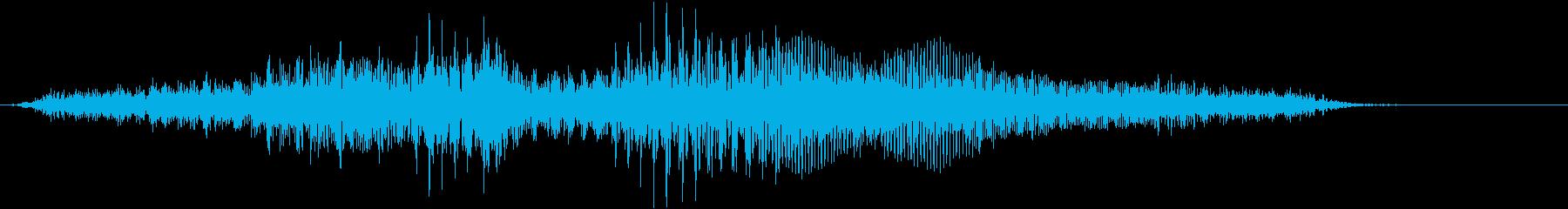 【物音】 ひきずる音_17 ギギギッッの再生済みの波形