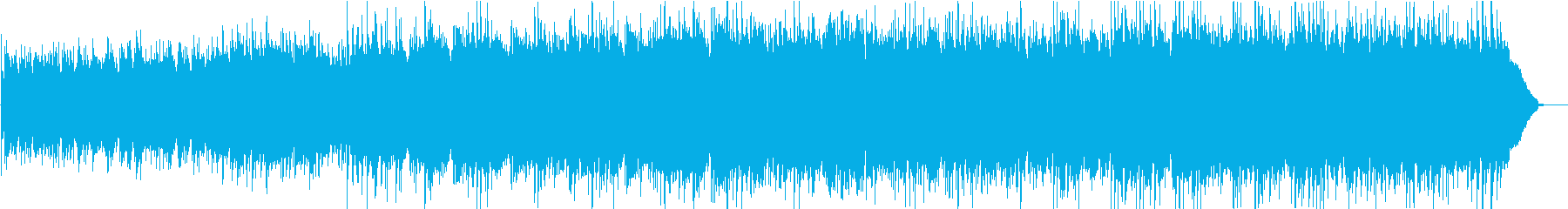 カントリーで暖かい曲の再生済みの波形