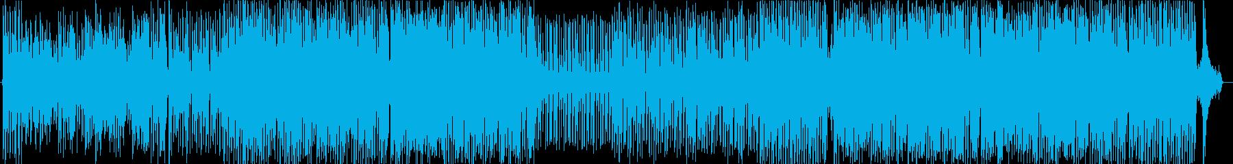 わんぱくな子供や動物をイメージした曲の再生済みの波形