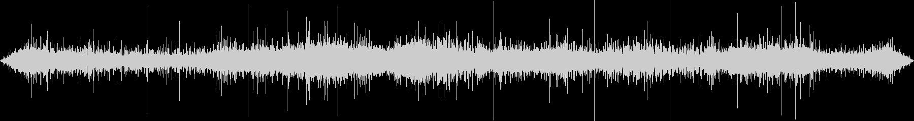 ジューー(炒める音)の未再生の波形