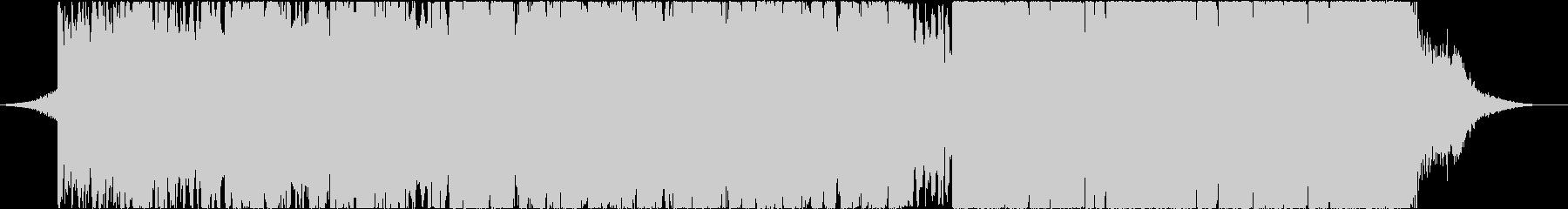 シネマVlogに使えるアンビエントEDMの未再生の波形