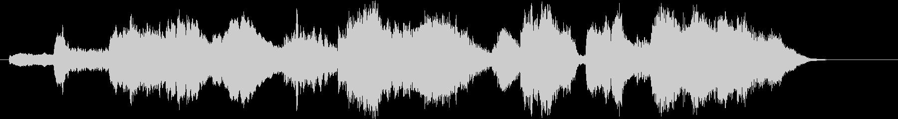 ファンタジー世界のオーケストラ・イントロの未再生の波形