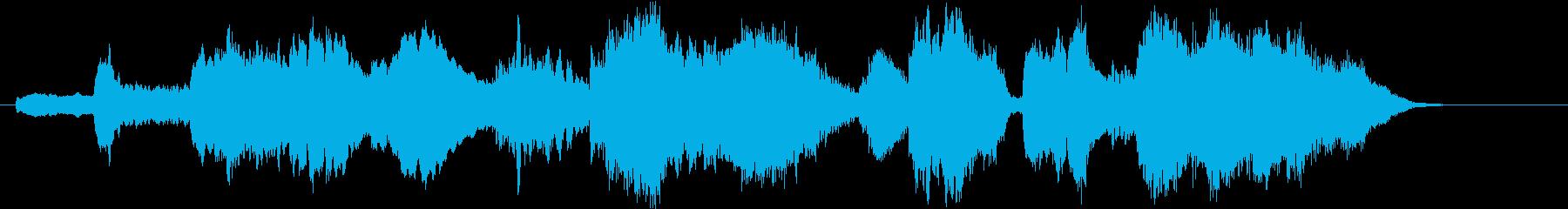 ファンタジー世界のオーケストラ・イントロの再生済みの波形