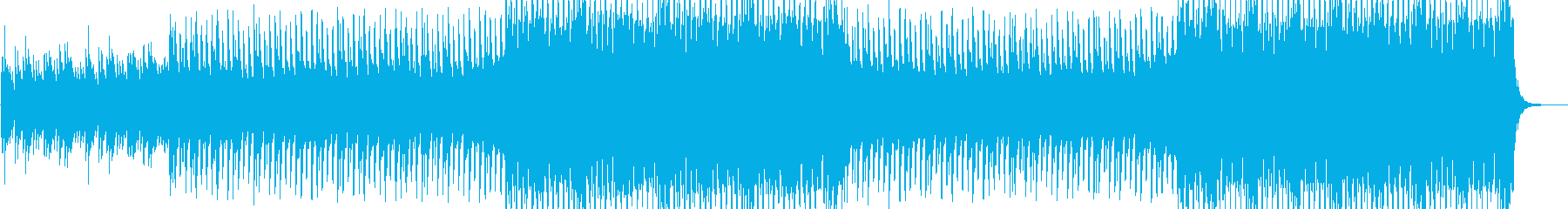 企業 爽やかポップ ピアノとストリングスの再生済みの波形
