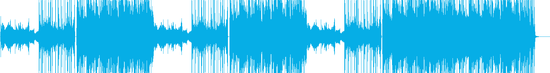 カフェなどに合うLO-FI HIPHOPの再生済みの波形