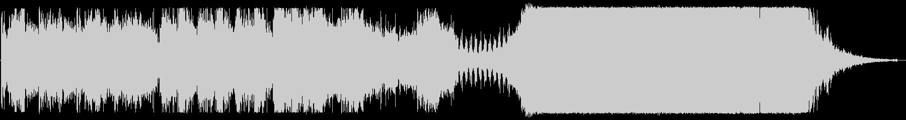 映画音楽的なBGMの未再生の波形