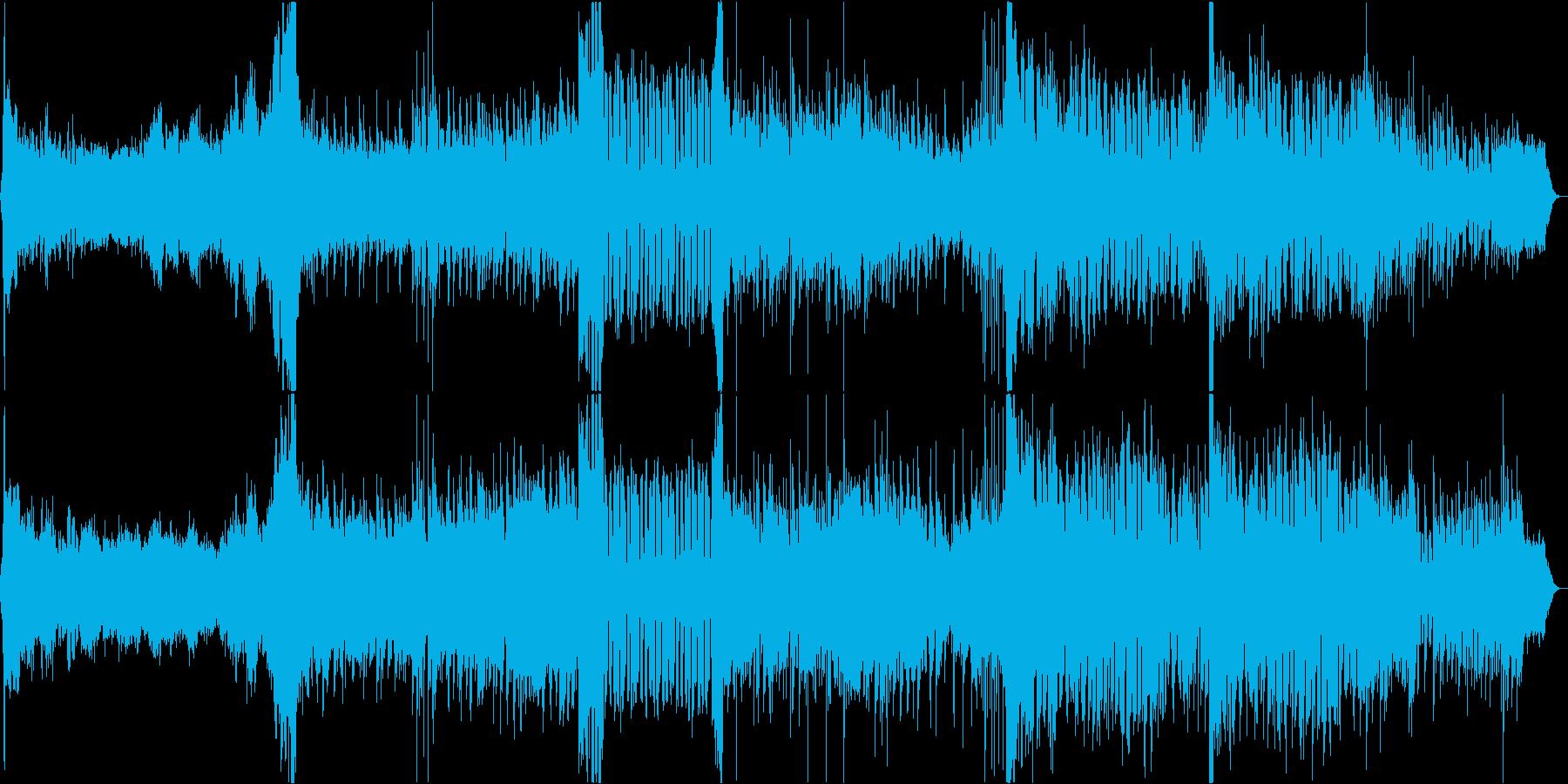 ピアノの旋律が印象的なシンセポップBGMの再生済みの波形