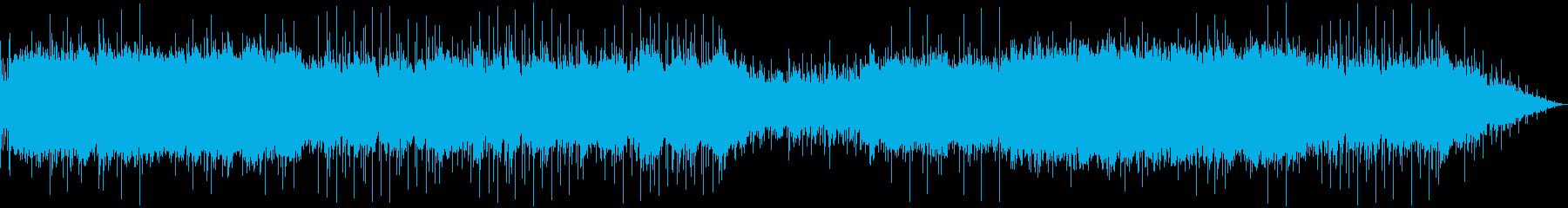 SF_疾走感あるゲーム風のBGMの再生済みの波形