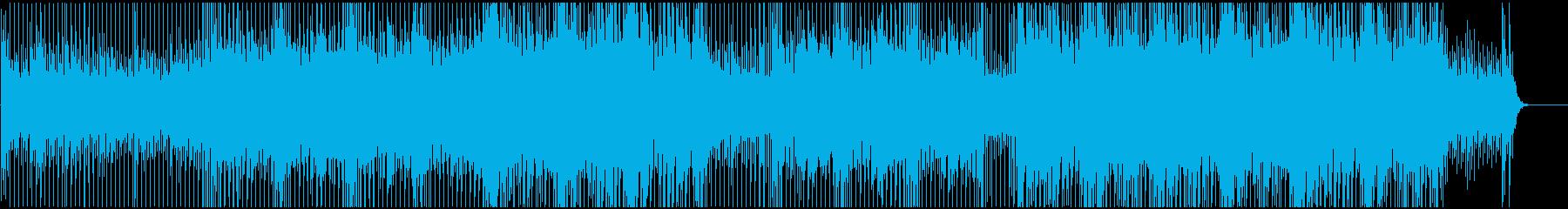 バランスよい透明感の再生済みの波形