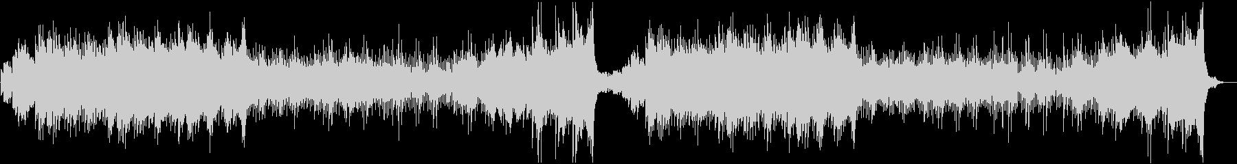 ホラー・不気味なオルゴール・ワルツの未再生の波形