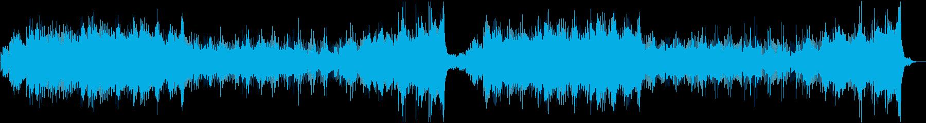 ホラー・不気味なオルゴール・ワルツの再生済みの波形