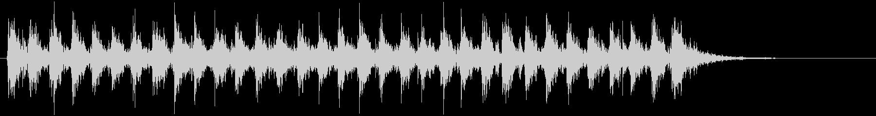 Xmasに最適トナカイベルのループ音09の未再生の波形