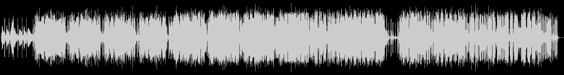 スローなジャズヒップホップの未再生の波形