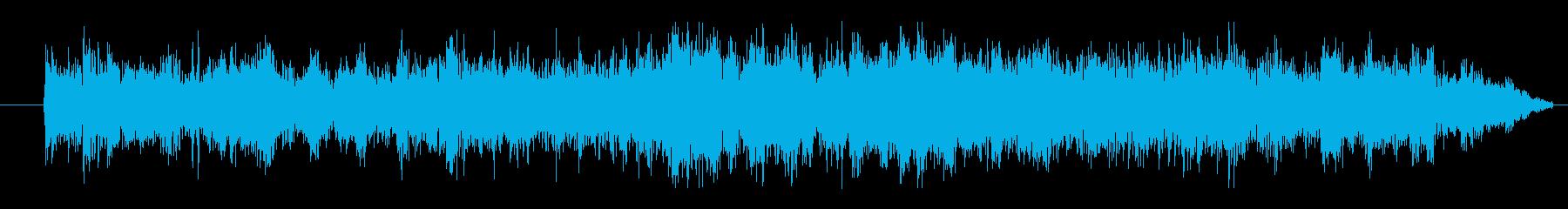 FX シャトル着陸02の再生済みの波形