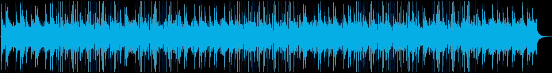 リラックス・穏やか・チル・LoFiの再生済みの波形