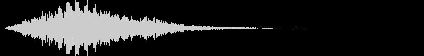 ティロロロロロ↑(場面転換、解放、星)の未再生の波形