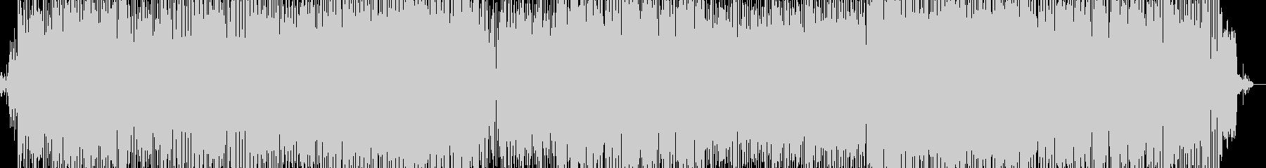 何かが始まるEDMの未再生の波形