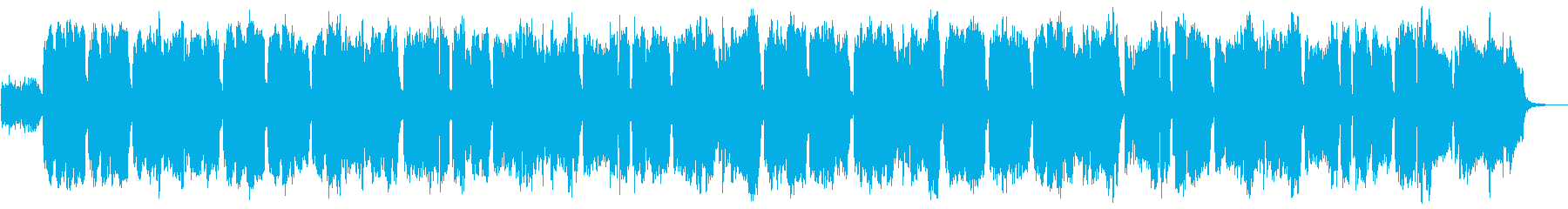 ケルトのホイッスルとギターのやわらかな曲の再生済みの波形