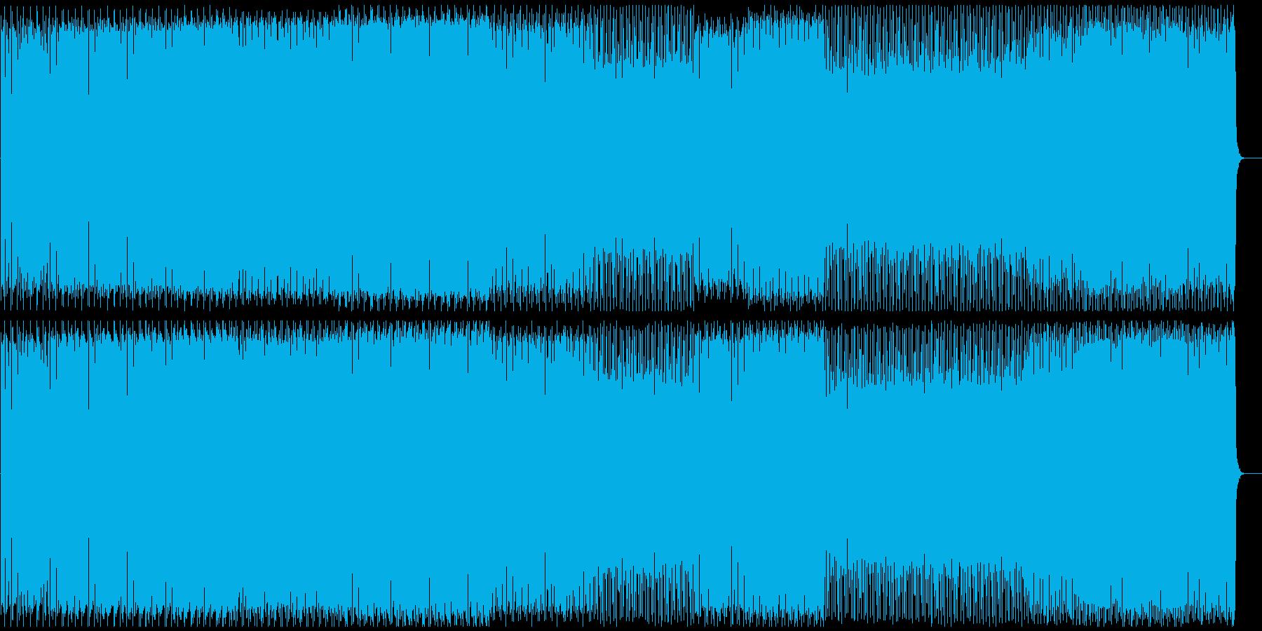 タイトなドラム&シンプルなリフ ハウスの再生済みの波形