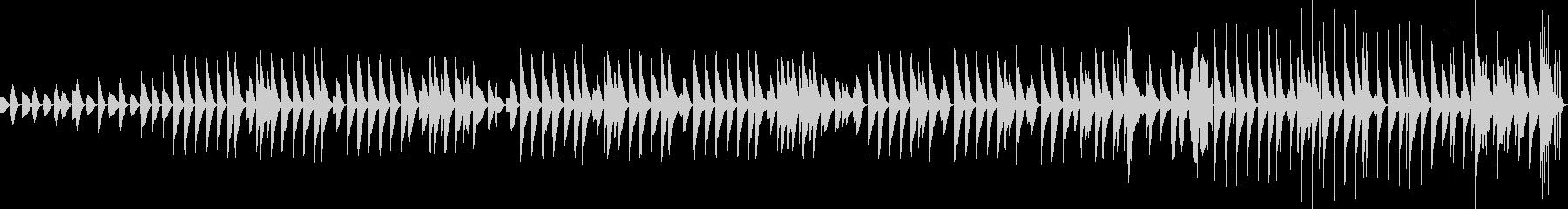 木琴が奏でるほのぼのとしたBGMその2の未再生の波形