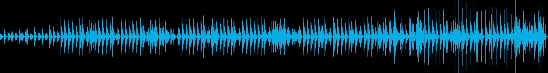 木琴が奏でるほのぼのとしたBGMその2の再生済みの波形
