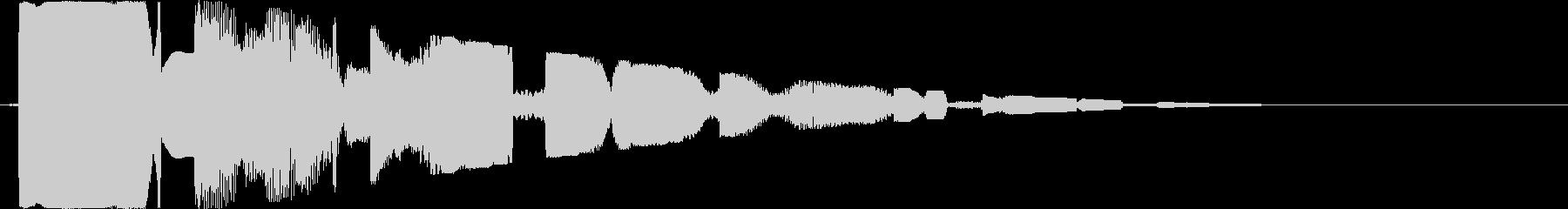 ピコピコ(空間系)の未再生の波形