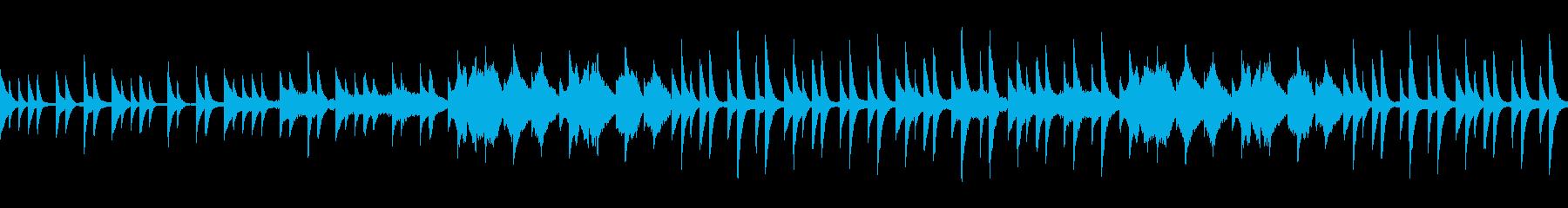 絶望的な悲しみに触れるBGMの再生済みの波形