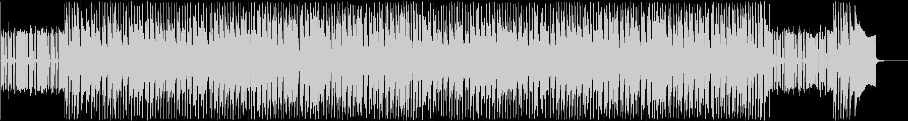 日常に流れる軽やかな曲の未再生の波形