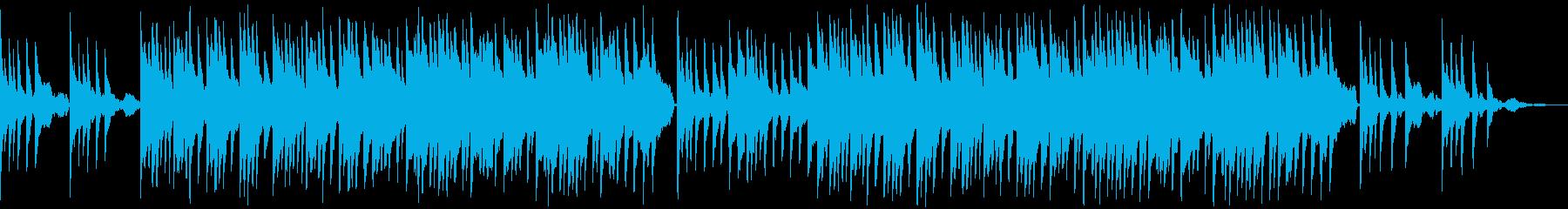 荘厳な感じのピアノ曲の再生済みの波形