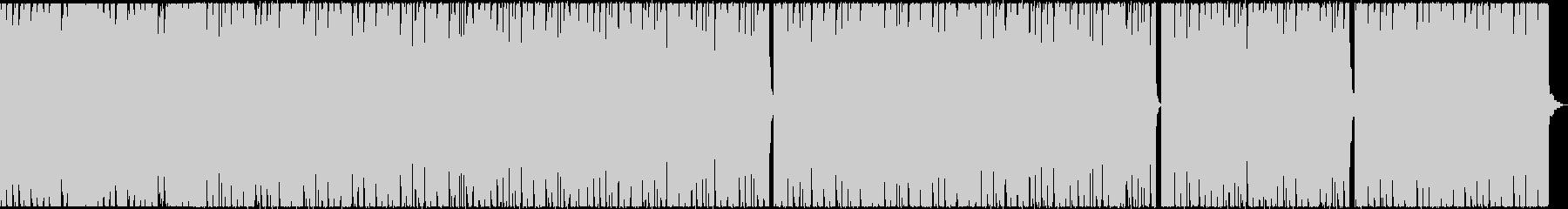ローファイ、チルなヒップホップビートの未再生の波形