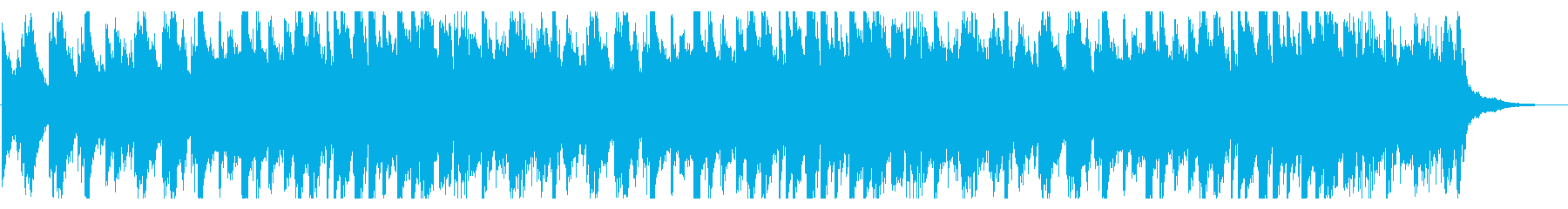 A solemn song by piano and strings's reproduced waveform