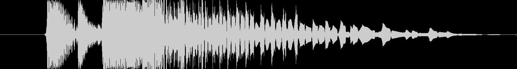 ドラムハットバージョン2の未再生の波形