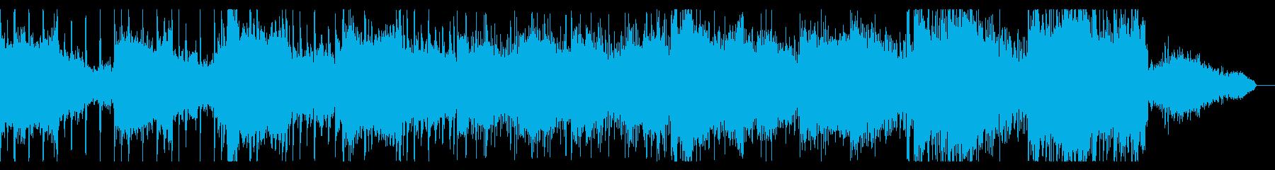 ゆっくり鬼気迫るアンビエントの再生済みの波形