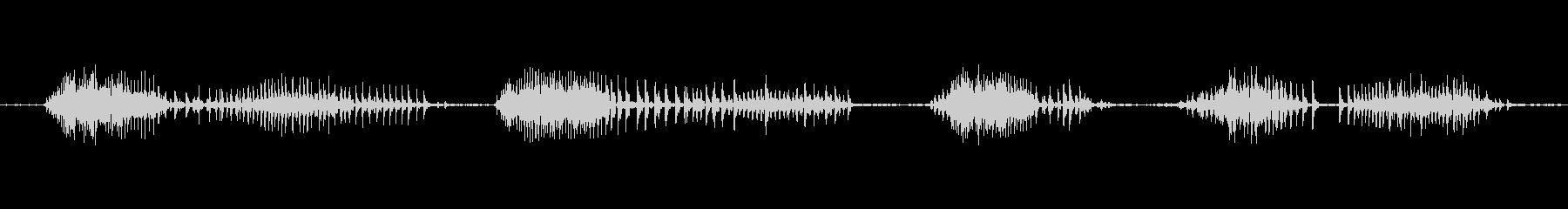 ヴーヴーヴーヴーヴーヴーの未再生の波形
