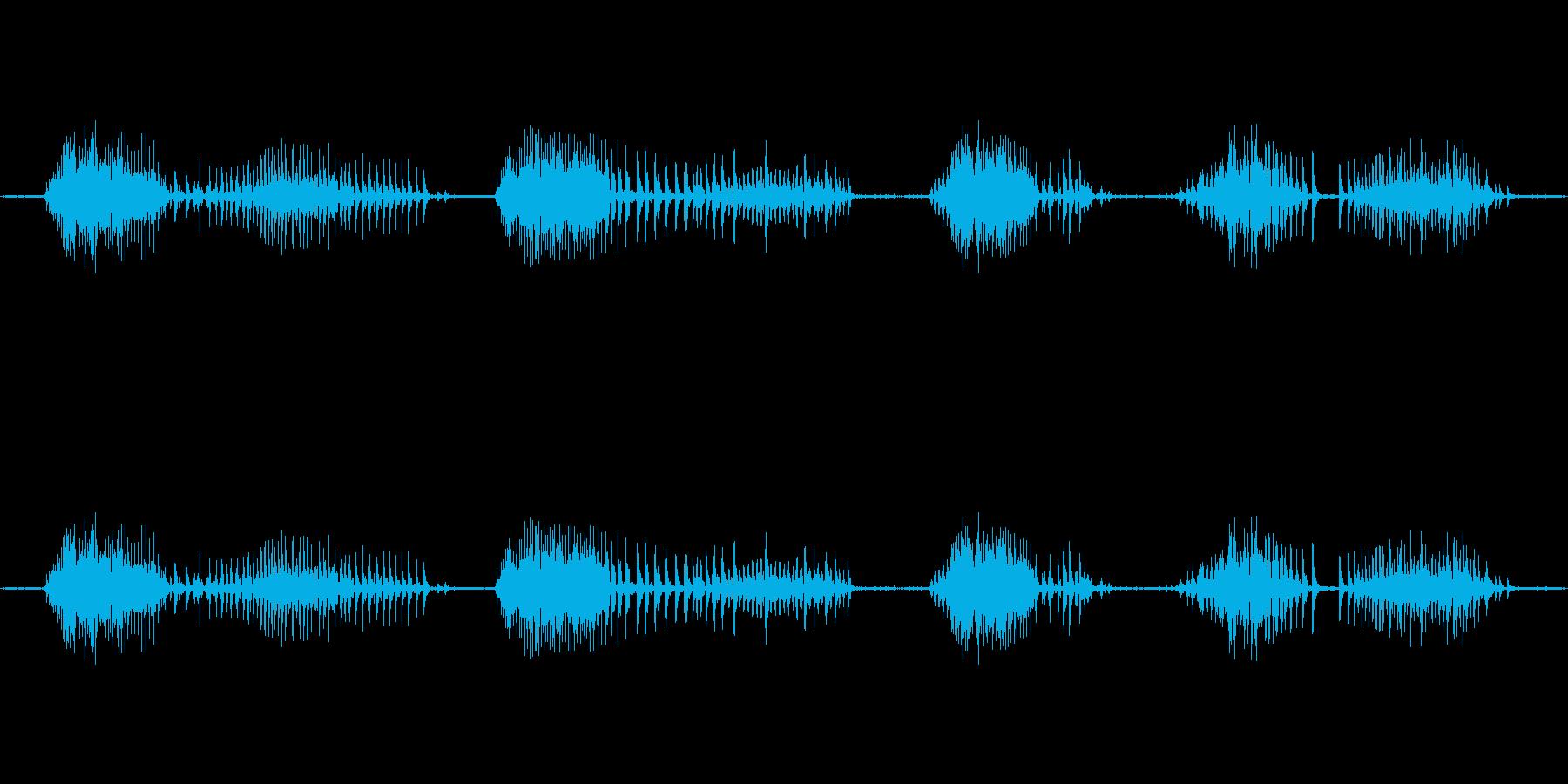 ヴーヴーヴーヴーヴーヴーの再生済みの波形