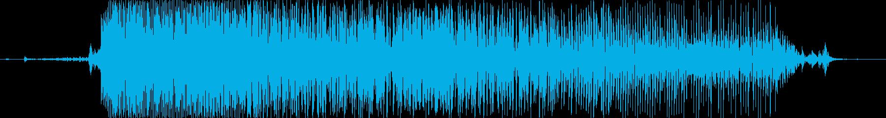 ぎゃーっ!の再生済みの波形
