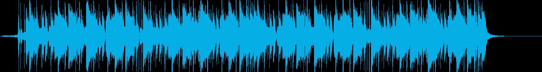 洋楽風・爽やかなFutureBass dの再生済みの波形