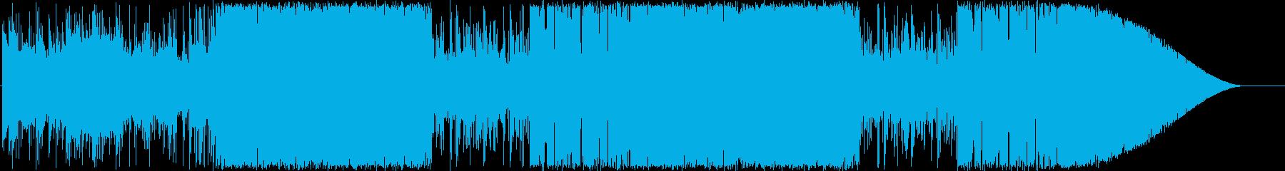 エレピとフルートの日常風BGMの再生済みの波形
