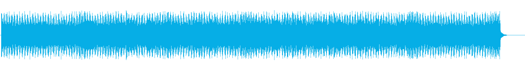 Mechanical techno BGM's reproduced waveform