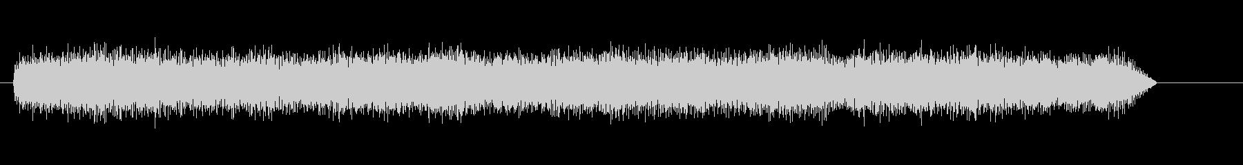 ドローン電子調音ドローンの未再生の波形