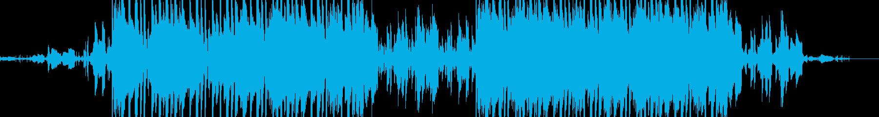 温もり感のあるヒップホップの再生済みの波形