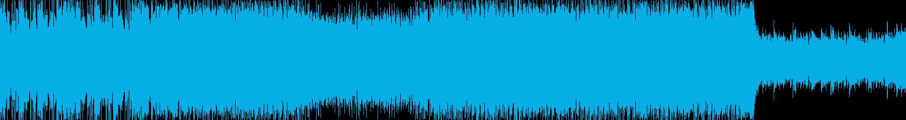 ギターソロメインのマジカルなロックループの再生済みの波形